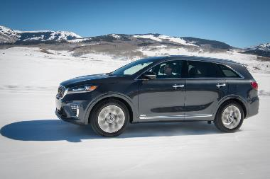 2019 Kia Sorento Side_left
